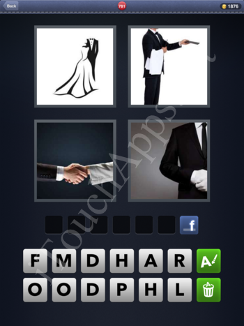 4 Pics 1 Word Level 781 Solution