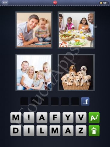 4 Pics 1 Word Level 783 Solution