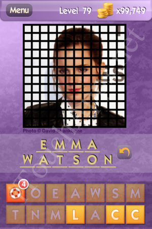 Who's the Celeb Level 79 Answer