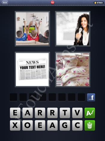 4 Pics 1 Word Level 792 Solution