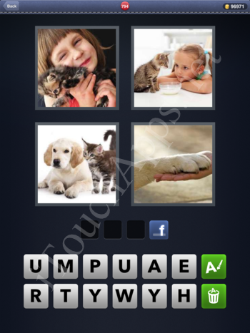 4 Pics 1 Word Level 794 Solution