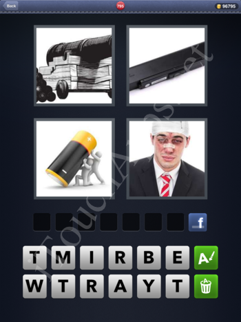 4 Pics 1 Word Level 795 Solution