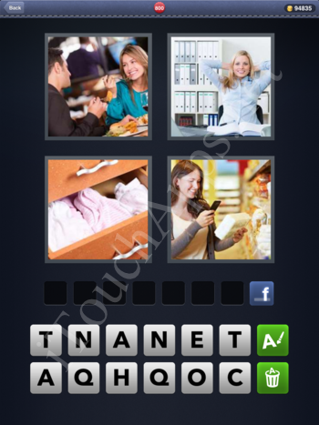4 Pics 1 Word Level 800 Solution