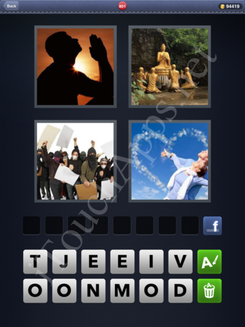 4 Pics 1 Word Level 801 Solution