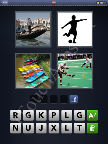 4 Pics 1 Word Level 802 Solution