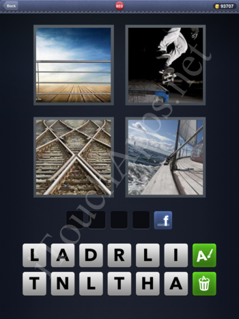 4 Pics 1 Word Level 803 Solution