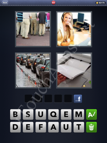 4 Pics 1 Word Level 805 Solution