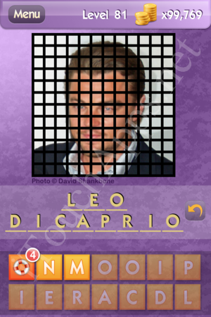 Who's the Celeb Level 81 Answer