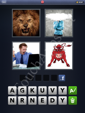4 Pics 1 Word Level 813 Solution