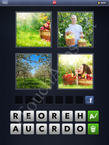 4 Pics 1 Word Level 814 Solution