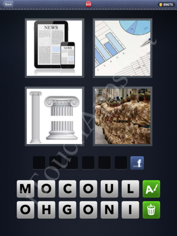 4 Pics 1 Word Level 815 Solution