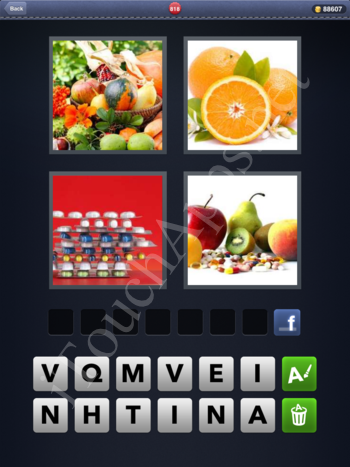 4 Pics 1 Word Level 818 Solution