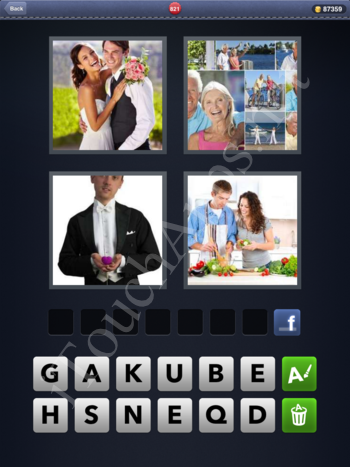 4 Pics 1 Word Level 821 Solution