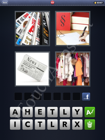 4 Pics 1 Word Level 828 Solution