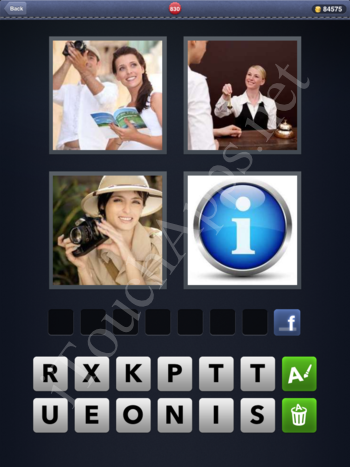 4 Pics 1 Word Level 830 Solution