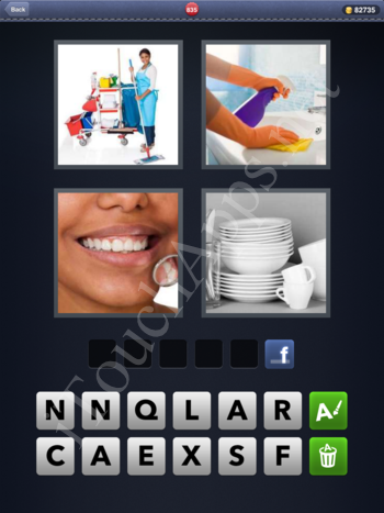 4 Pics 1 Word Level 835 Solution