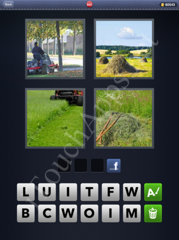4 Pics 1 Word Level 842 Solution