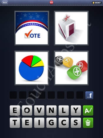 4 Pics 1 Word Level 843 Solution