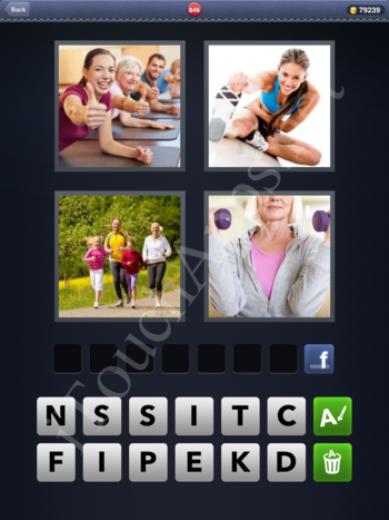 4 Pics 1 Word Level 846 Solution