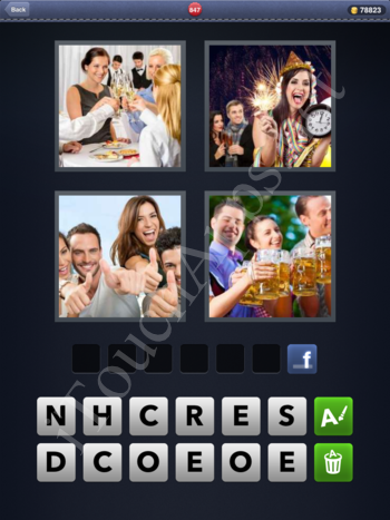 4 Pics 1 Word Level 847 Solution