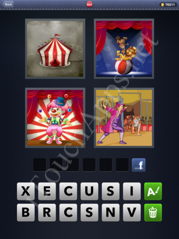 4 Pics 1 Word Level 854 Solution