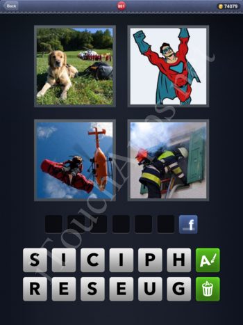 4 Pics 1 Word Level 861 Solution