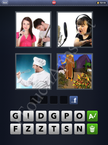 4 Pics 1 Word Level 866 Solution