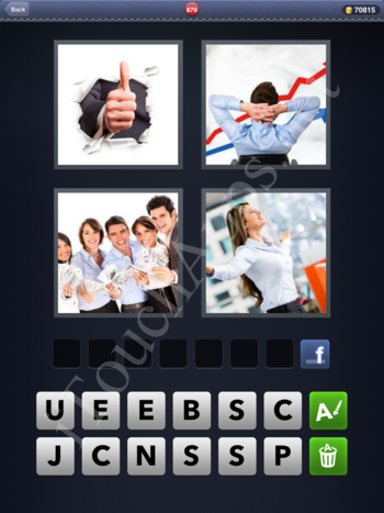 4 Pics 1 Word Level 870 Solution