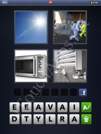 4 Pics 1 Word Level 879 Solution