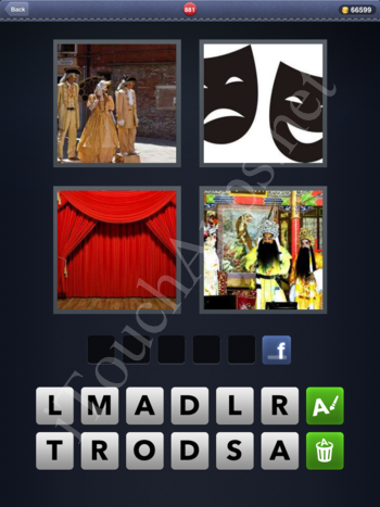 4 Pics 1 Word Level 881 Solution