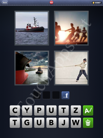 4 Pics 1 Word Level 883 Solution