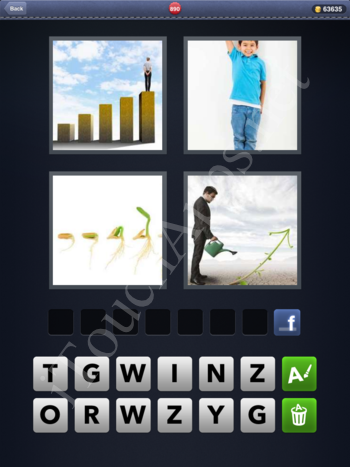 4 Pics 1 Word Level 890 Solution