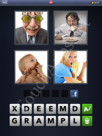 4 Pics 1 Word Level 893 Solution