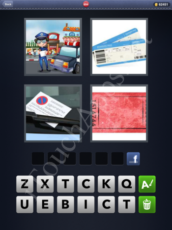 4 Pics 1 Word Level 894 Solution