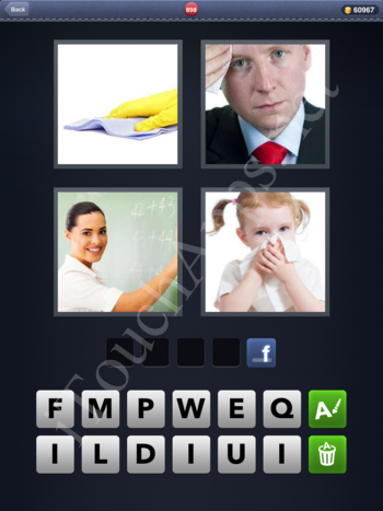 4 Pics 1 Word Level 898 Solution