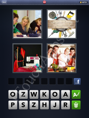 4 Pics 1 Word Level 899 Solution