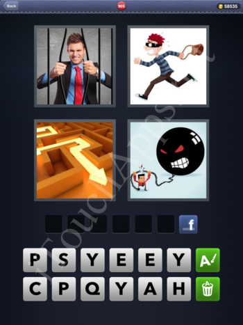 4 Pics 1 Word Level 905 Solution
