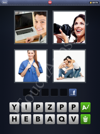 4 Pics 1 Word Level 906 Solution