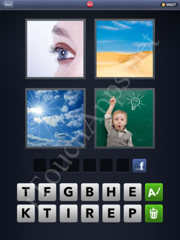 4 Pics 1 Word Level 913 Solution