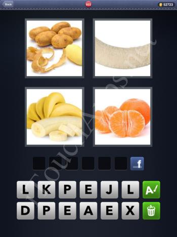 4 Pics 1 Word Level 922 Solution