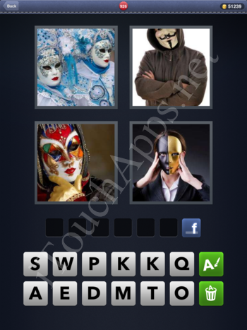 4 Pics 1 Word Level 926 Solution