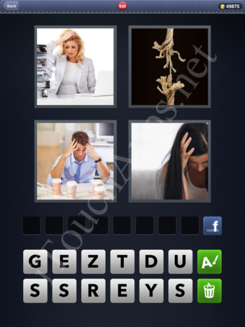 4 Pics 1 Word Level 930 Solution