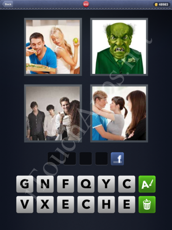 4 Pics 1 Word Level 932 Solution