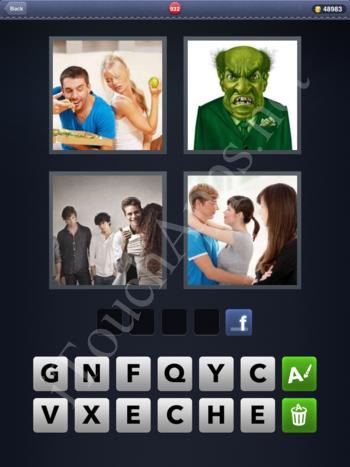 4 Pics 1 Word Level 932 Solution
