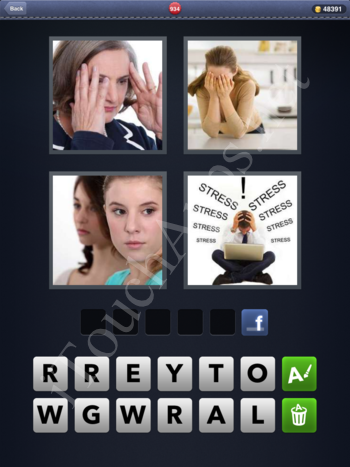 4 Pics 1 Word Level 934 Solution
