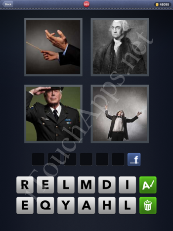 4 Pics 1 Word Level 935 Solution