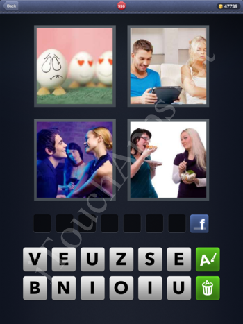 4 Pics 1 Word Level 936 Solution