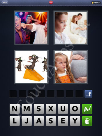 4 Pics 1 Word Level 938 Solution