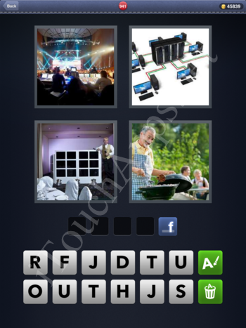 4 Pics 1 Word Level 941 Solution