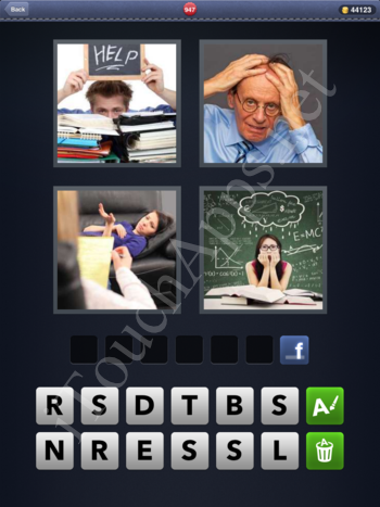 4 Pics 1 Word Level 947 Solution